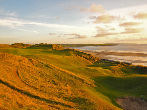 Ballybunion, Cashen Course Sunset