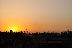 Marrakech (Lapatia) Tags: africa city sunset morocco marocco marrakech marrki