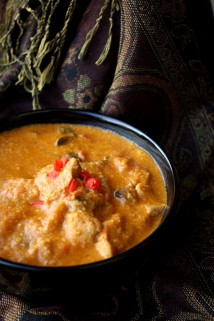 Mushroom-Pork Curry
