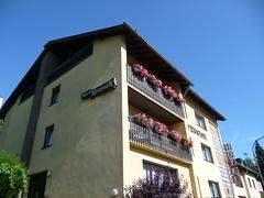 The Hotel am Kurpark (seikinsou) Tags: germany hotel balcony geranium kurpark pruem prm