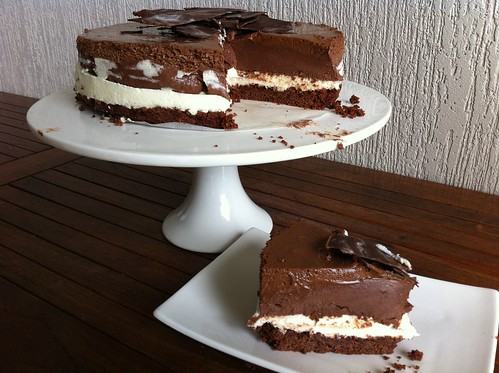 Triple Chocolate Ricotta Cheesecake by mjd-s