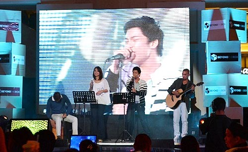 A music and fun filled night at the Beyond the Box opening in Newport Mall in Resorts World Manila