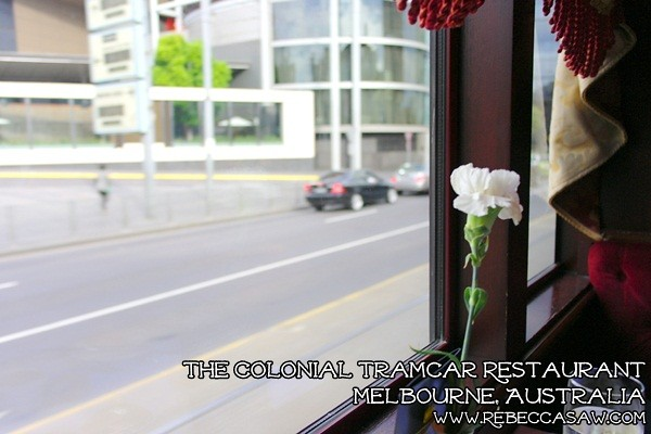 the colonial tramcar restaurant Melbourne-11