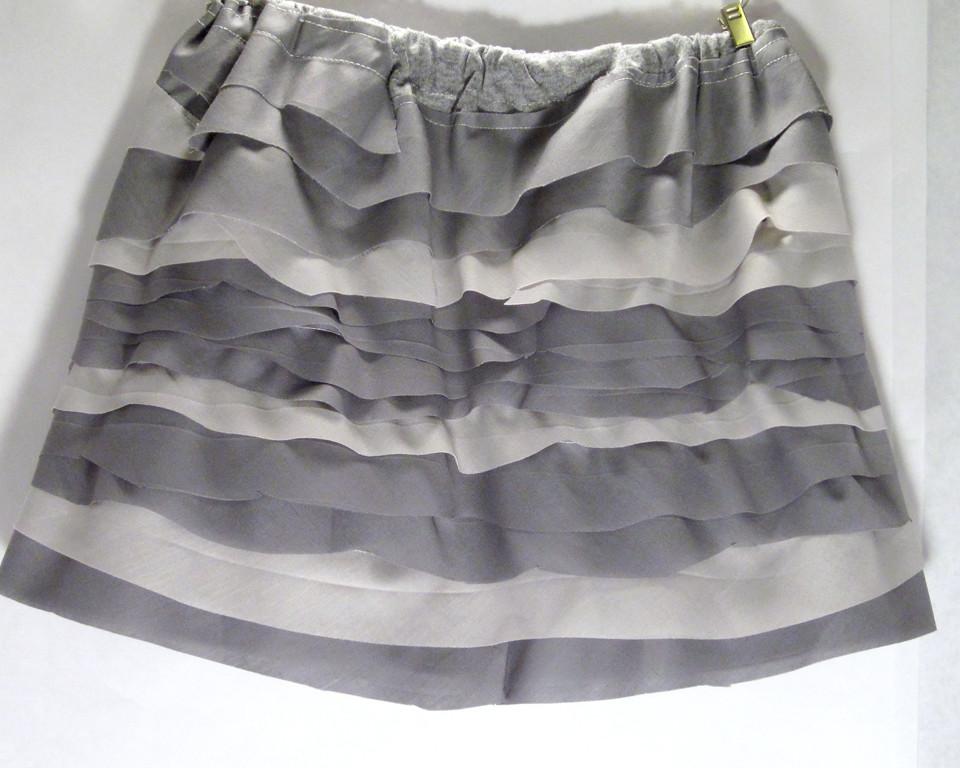 Gray Giggle Skirt
