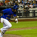 Jose Reyes runs out a groundball