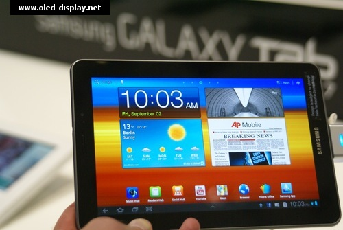 Super-Amoled-Plus Tablet pc