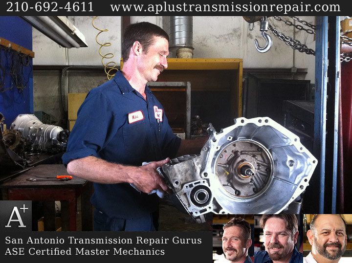 Transmission Repair in San Antonio by A+ Transmission and Automotive Repair