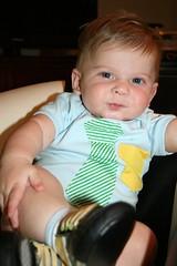 Ezra, 6 months old