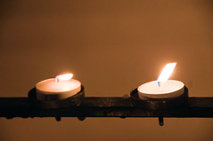 2 (Chris Willis 10) Tags: light 2 two simon liverpool reflections candle shadows flame rememberance sait simonsait