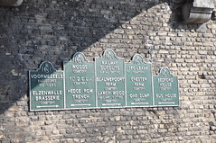 Lille Gate original Imperial War Graves Commission Signs (Rob Lovesey) Tags: world city original gate war first graves ramparts belguim times walls lille wipers commission commonwealth ypres salient commissions casements imerperial