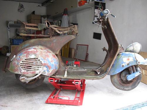 Vespa 125 1953 VM1