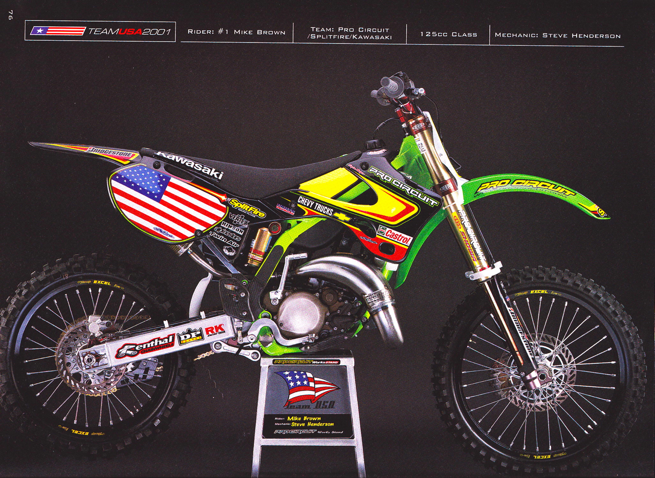 The 2001 Mxdn Team Usa That Never Was Moto Related Rc Car Circuit Exposed Flickr Photo Sharing Motocross Forums Message Boards Vital Mx
