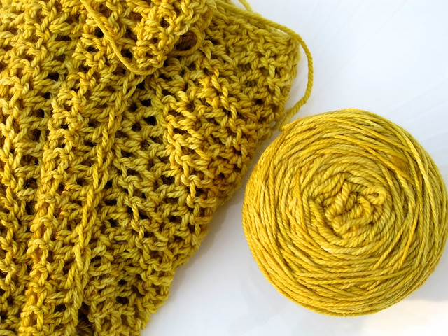 Celebrate Color Crochet Scarf Stitched In Color