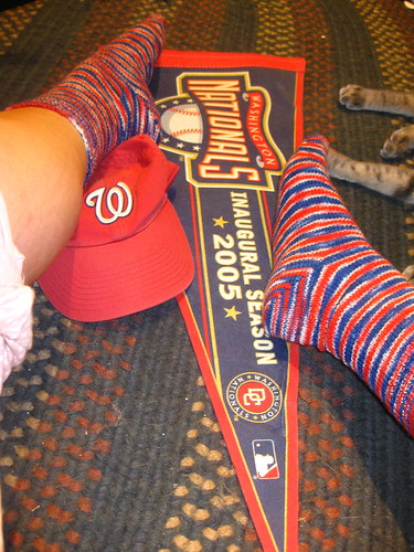 Nationals Socks