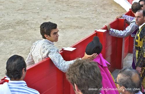 Luis Rivera debuta con picadores en la Mezquita del Toreo Melilla 2011