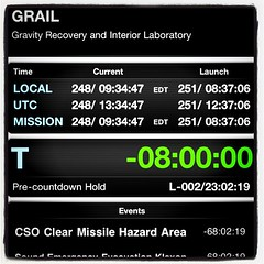#GRAIL #NASATweetup #MissionClock