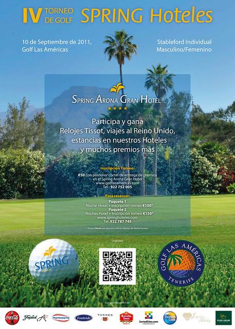 IV Spring Hoteles Golf Tournament at Golf Las Americas