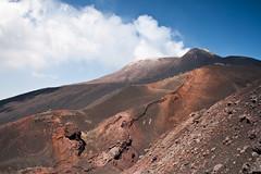 Mt. Etna (Henrik Kalliomki) Tags: shadow sky italy cloud mountain nature landscape volcano lava rocks hiking sicily geology eruption hazard volcanology mountetna canoneos400d