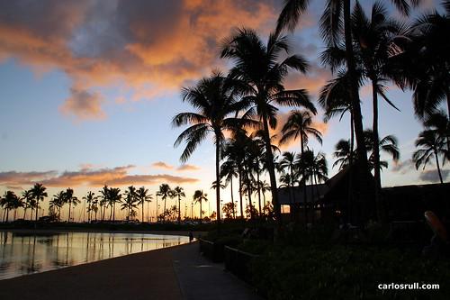 Waikiki Sunset - August 2011
