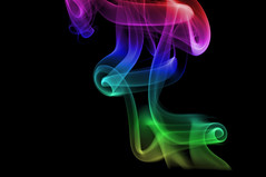 multi color smoke in the light  - Explored  Thank you loads :) (CheekyAngels (catching up )) Tags: distortion black colour macro flow fire mirror nikon soft artistic smoke flash perspective dream surreal twin velvet formation fluid explore elements heat imagination organic dslr tamron 90mm variation incense buen explored ringexcellence