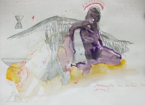 Los ángeles no baten sus alas by cardesin