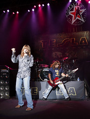 TESLA - DTE Energy Center - Clarkston, MI - Aug 28th 2011