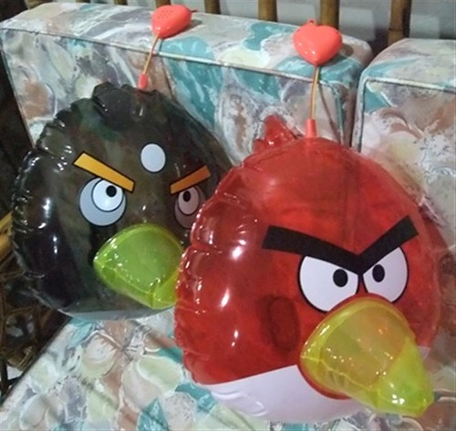 Chinese Mid-Autumn Festival Angry Bird Lantern operate in battery (Medium)