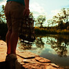 When To Set Sail (Casey David) Tags: trees boy sky cloud lake reflection tree green feet water grass clouds pond day branch skies sailing ship shadows legs branches ships days reflect barefoot sail barefeet shorts 365 project365 365days algage caseydavid caseydavidphotography