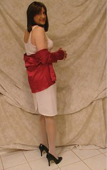 Cami, slip and heels (emma_michaels) Tags: panties titties cd hose tgirl sissy tranny slip cami crossdresser crossdress trannie