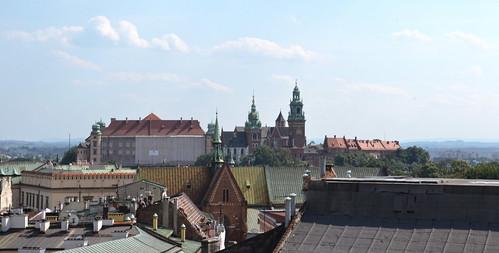 Wawel desde la Torre del Ayuntamiento
