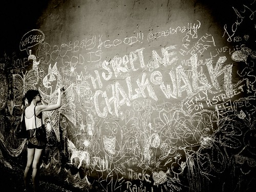 Chalk Walk by Nivad
