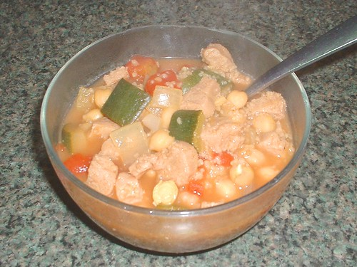 moroccan zuzhinni stew