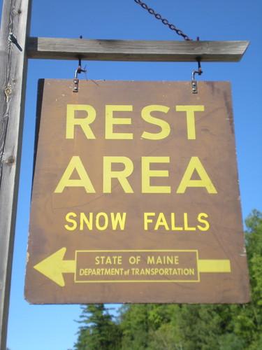 Snow Falls: Maine