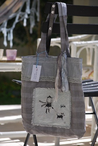 Personalized tote bag - for Geisa by good mood factory
