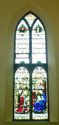 Stained glass window (east)
