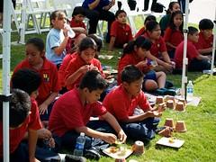 Children Play at La Plaza