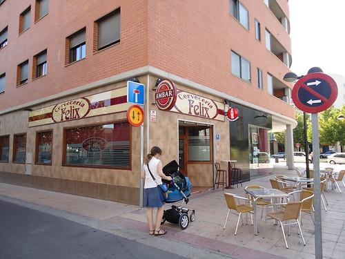 Zaragoza | Cervecería Félix | Exterior y terraza