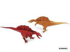 Spinosaurus (Al3bbasi.) Tags: origami dinosaur kamiyasatoshi spinosaurus al3bbasi shukikato