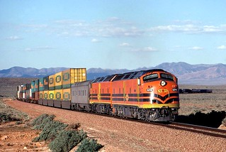 The Toll train - Yorkeys Crossing