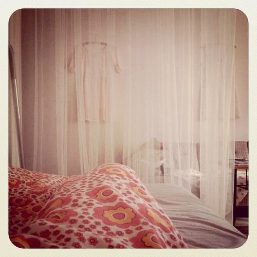 Fortfarande sjuk och sängliggande!