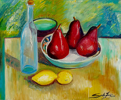 "Bosc Pears I • <a style=""font-size:0.8em;"" href=""https://www.flickr.com/photos/78624443@N00/6153470434/"" target=""_blank"">View on Flickr</a>"