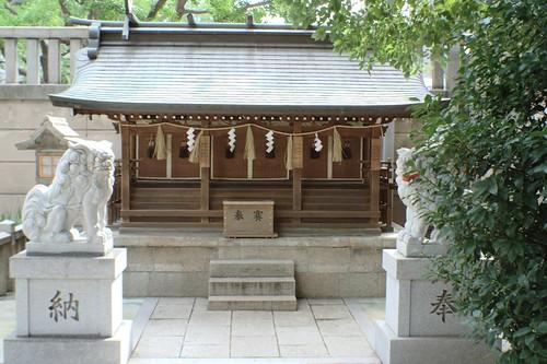 難波神社 末社 十四柱相殿神社