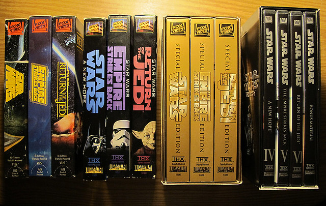 Star Wars 4 Sets Of The Trilogy