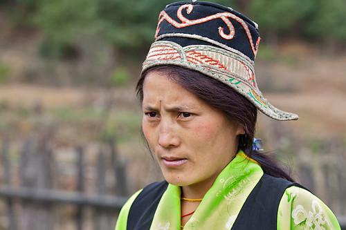 Arunachal Pradesh : Mechuka, Memba tribe #8
