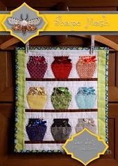 'Jar shelf' free PP pattern (ShapeMoth) Tags: kitchen rainbow quilt shelf jar patchwork pp paperpieced paperpiecing miniquilt shapemoth foundationpiecine