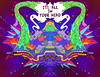 Its All In Your Head (ॐSpace Jungleॐ) Tags: zachmartinak trippy symmetrical brokenhorn drawn drawings handdrawn psychedelic acid color illustration