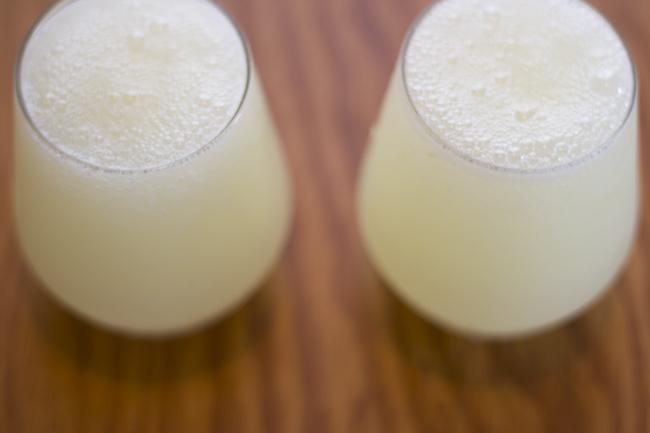 rosemary lemonade slushes