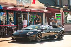 Lamborghini Murcielago (andrewjsan) Tags: provincetown canon5d lamborghini murcielago lamborghinimurcielago canonef85mmf18usm lp640roadster thecoffeepotrestaurant