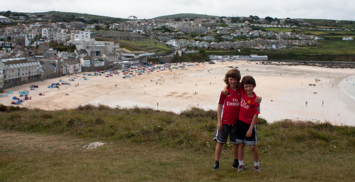 Boys St Ives view