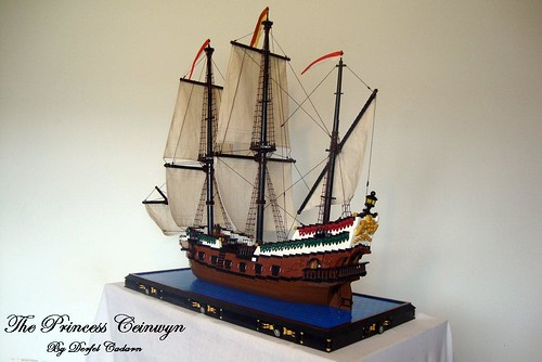 A Lego Ship On Which To Sail The Brothers Brick The